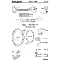 bezzera spare parts taps exploded table