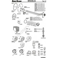 Table BRASILIA 12