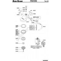 Table PAVONI 12